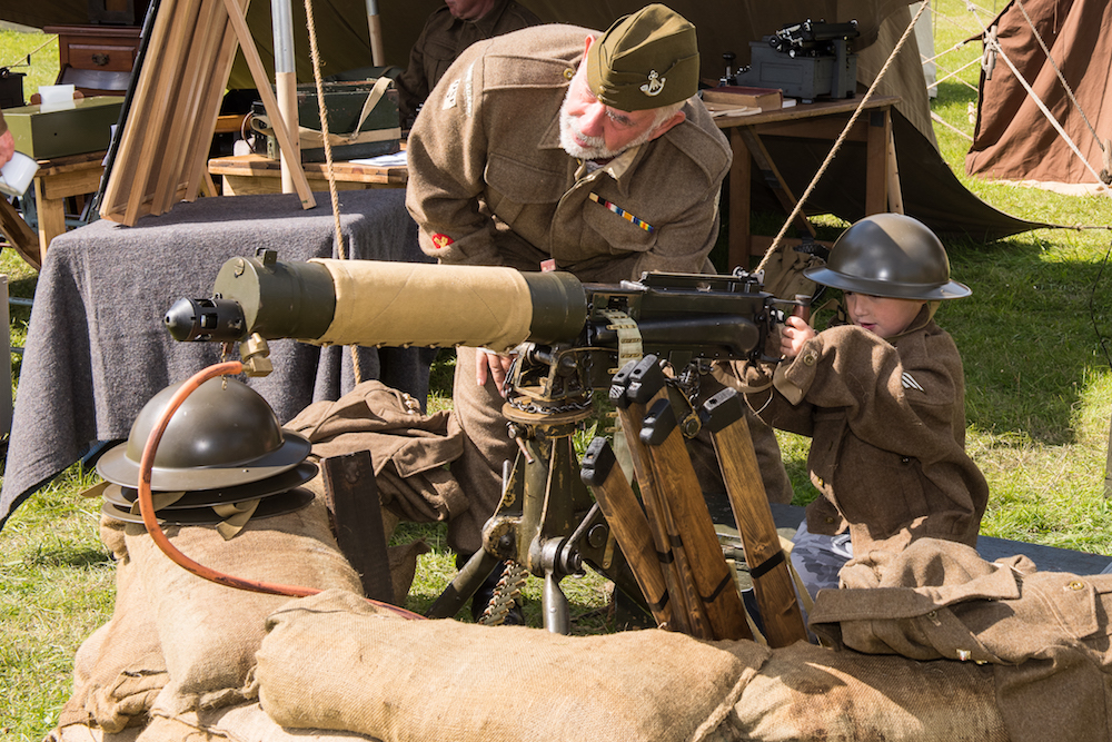 Military re-enactors will bring history to life to entertain all ages