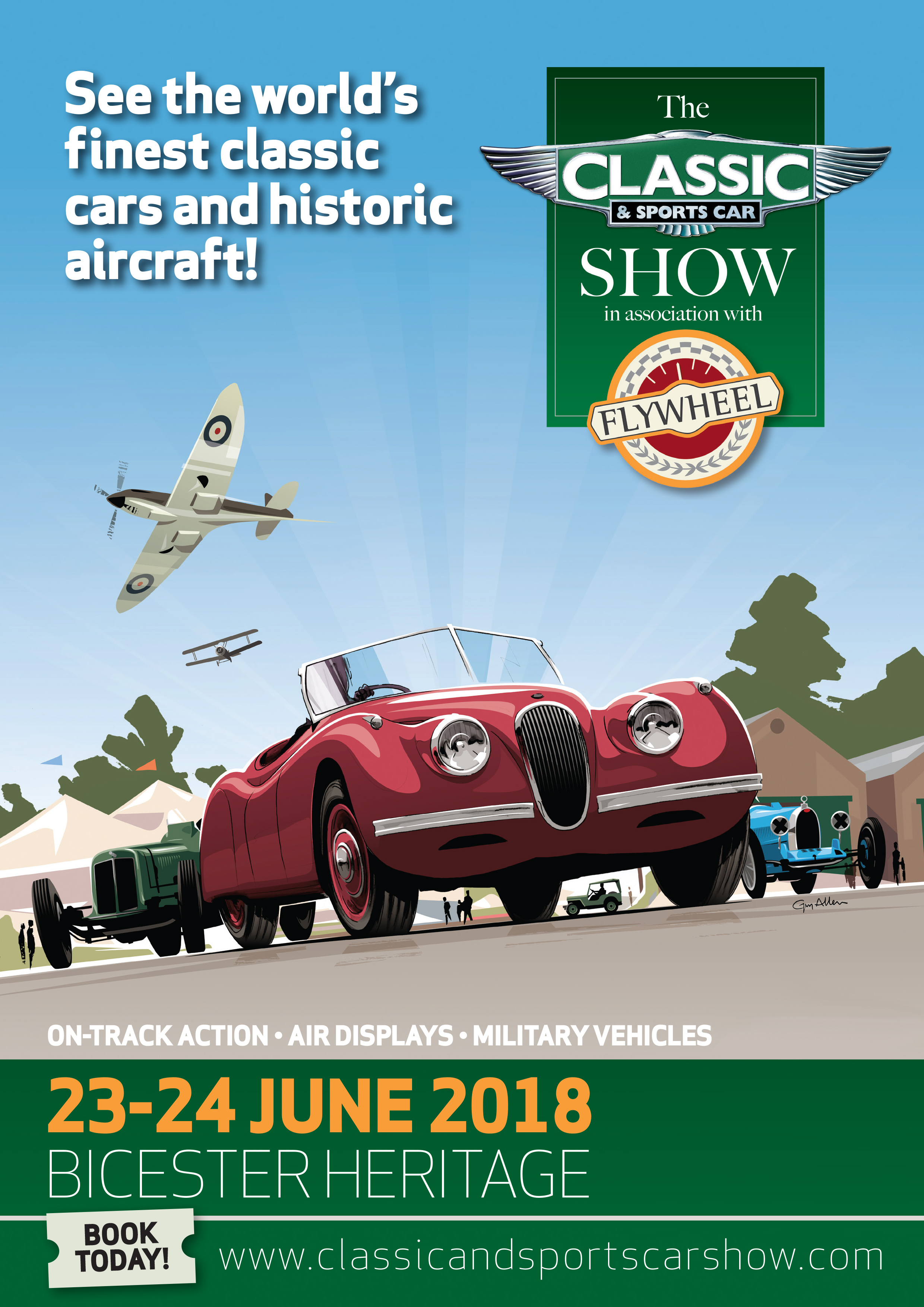 Classic & Sports Car Show in association with Flywheel